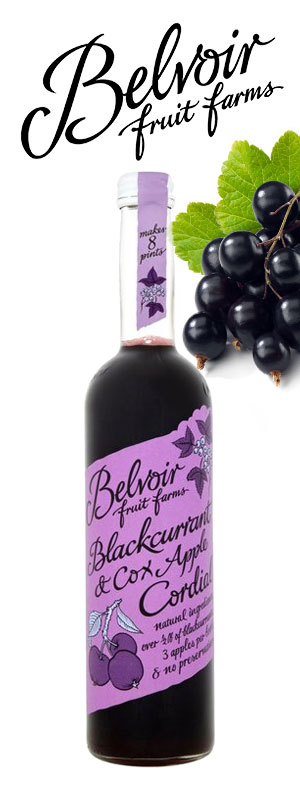 Belvoir Blackcurrant Cocktails