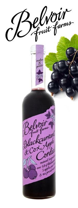 Belvoir Blackcurrant Cocktails