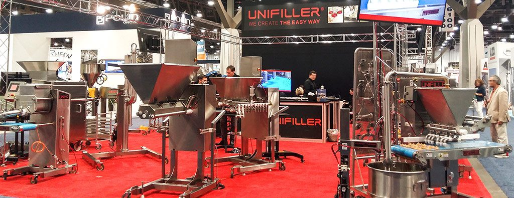 Unifiller portioning depositors for Dubai and United Arab Emirates